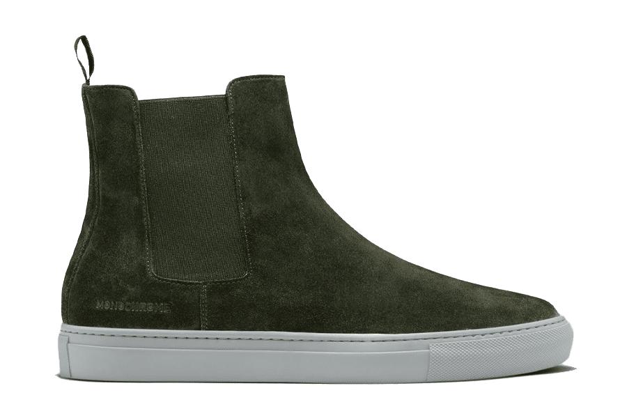 Monochrome Chelsea Boot
