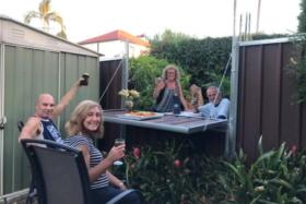 backyard fence hack
