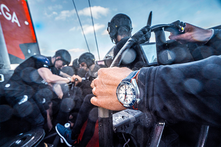 OMEGA America's Cup seamaster Planet Ocean 3
