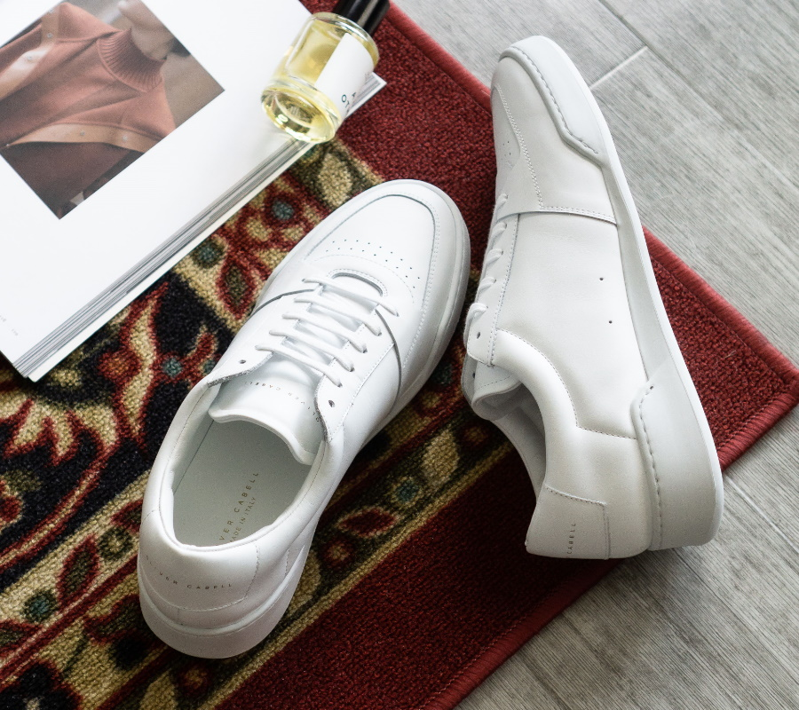 oliver cabell white leather sneaker