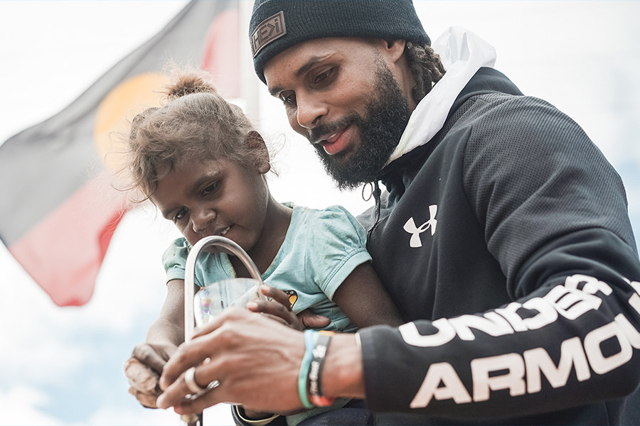 Patty Mills Launches Team Mills Foundation
