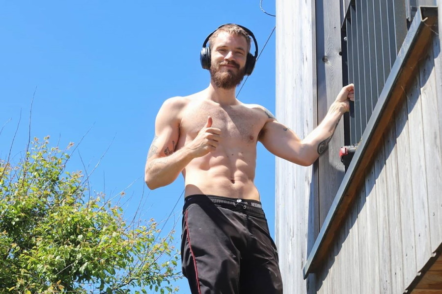 PewDiePie Reveals the Workout That Got Him Absolutely Jacked | Man of Many