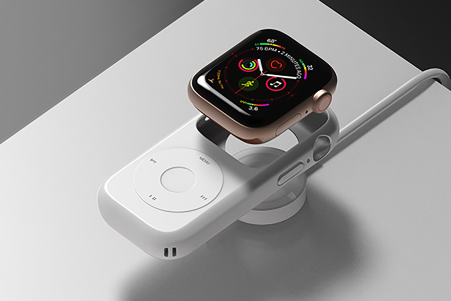 how to attach Pod Case for Apple Watch