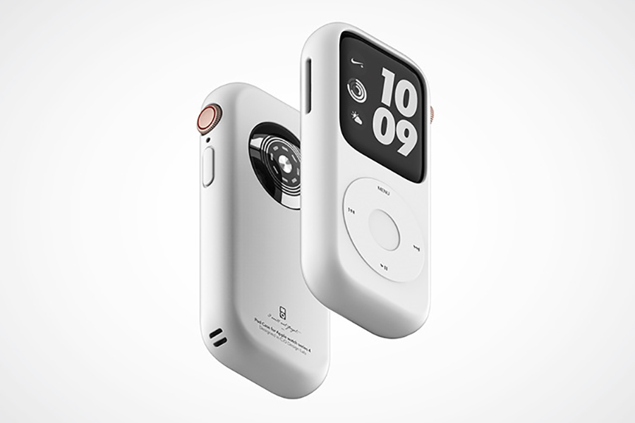 Pod Case for Apple Watch side view