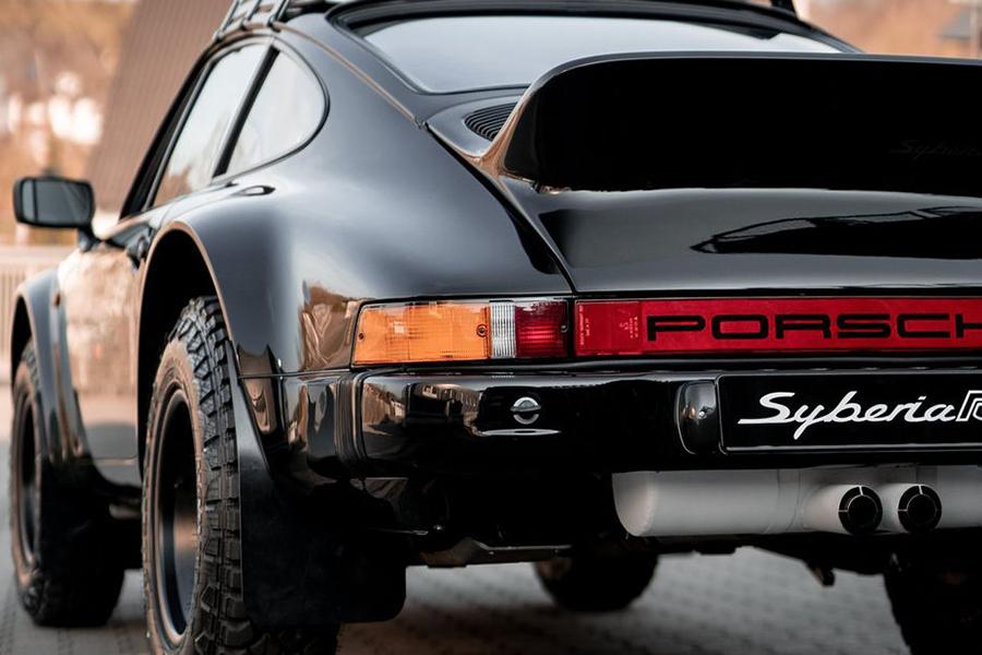 Porsche 911 Syberia RS back
