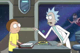Rick and Morty One Episode per month