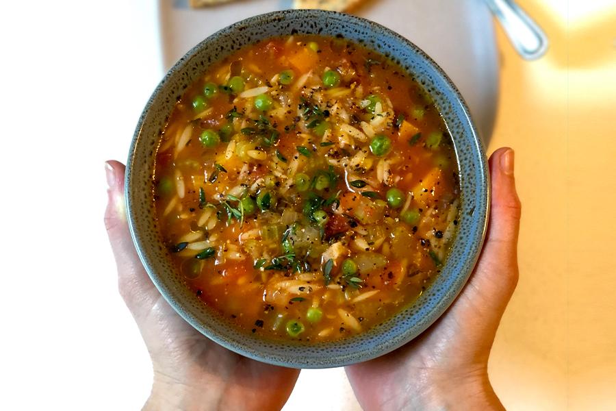 Spicy Risoni