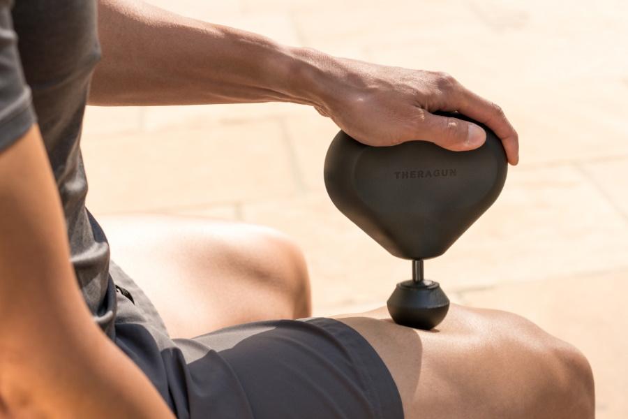 theragun mini massage tool