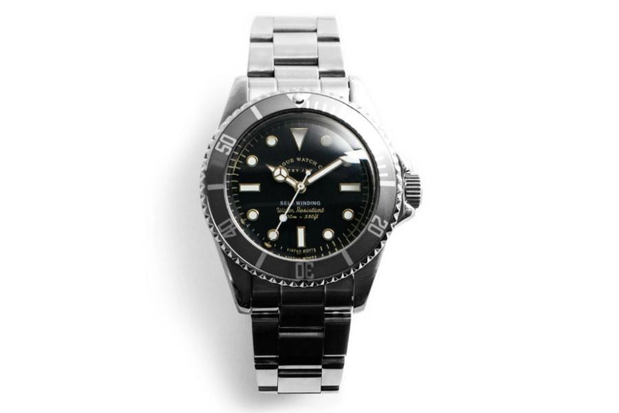 Vague Watch Co. Grey Fade Submariner watch