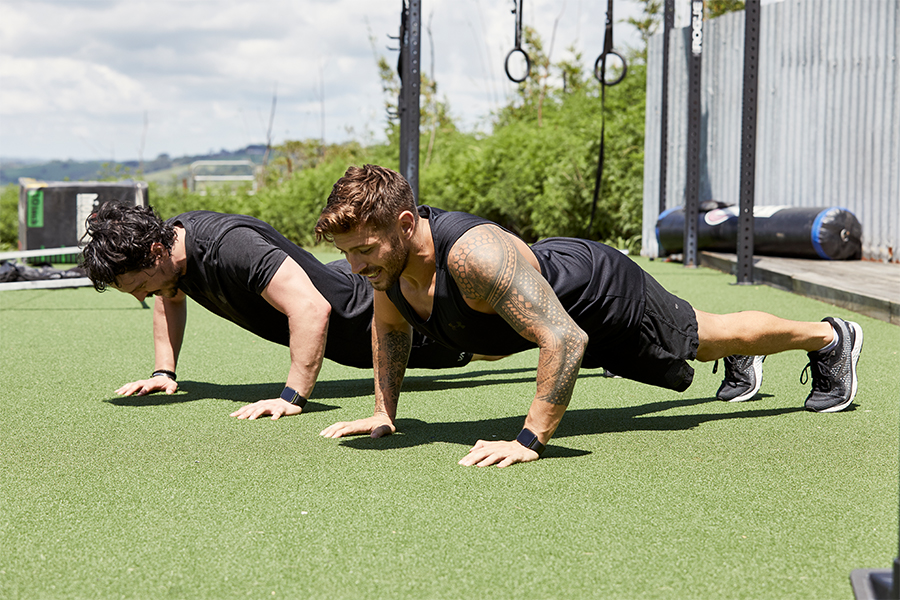 Workout like Chris Hemsworth with Centr trainer Luke Zocchi and celebrity chef Dan Churchill 1