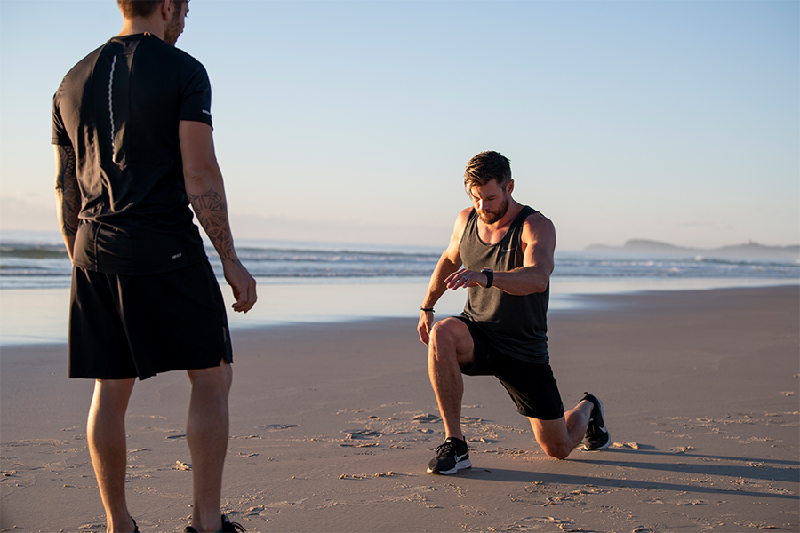 Workout like Chris Hemsworth with Centr trainer Luke Zocchi and celebrity chef Dan Churchill 2