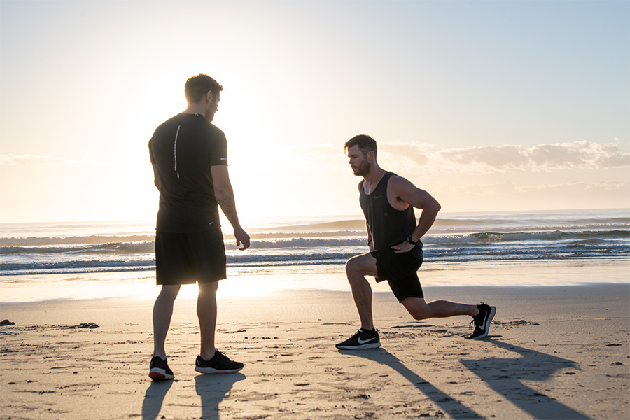Workout like Chris Hemsworth with Centr trainer Luke Zocchi and celebrity chef Dan Churchill 3