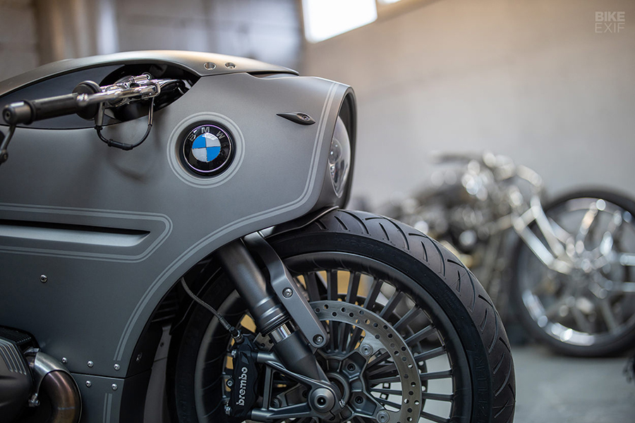 Ziller Garage BMW R9T Motorcycle front