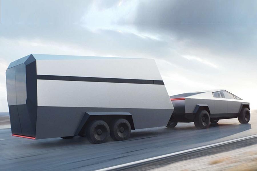 cybertruck trailer