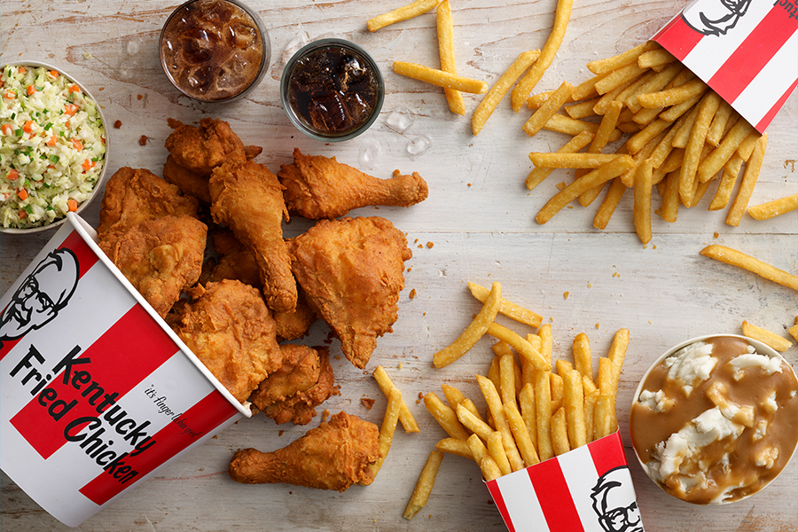 kfc free delivery
