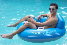 poolcandy tube runner pool toy
