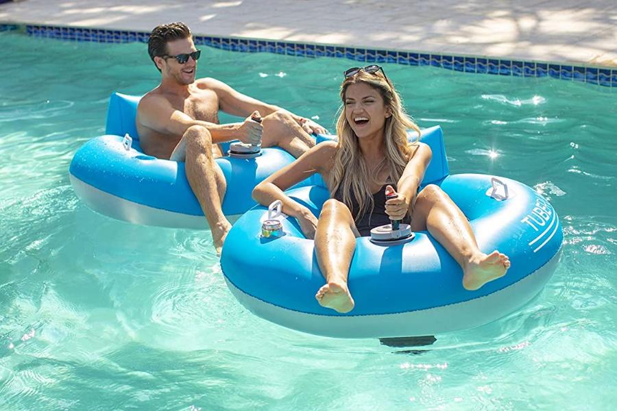 poolcandy tube runner motorised float