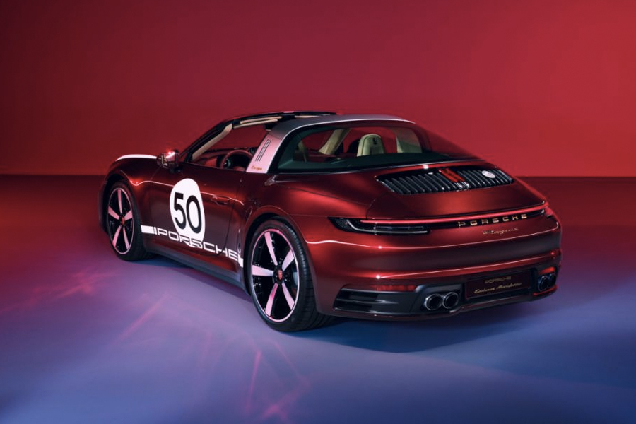Porsche 911 Targa 4S Gets a Heritage Design Edition