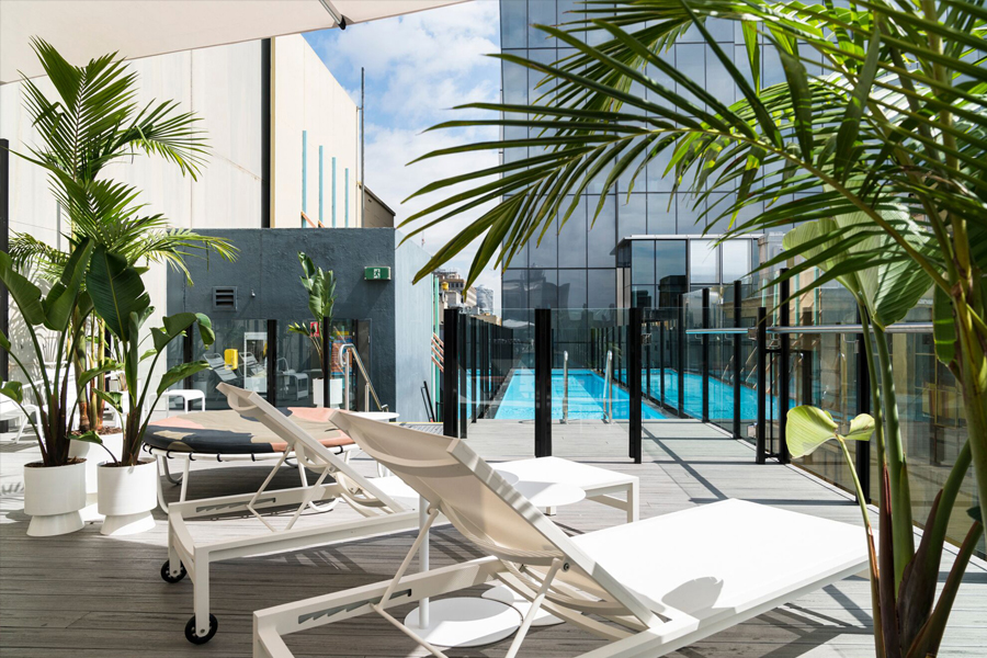 Adelphi Hotel Rooftop Pool
