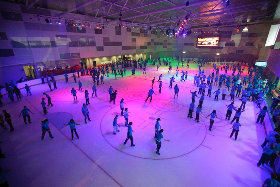 Obriens ice house ice skating