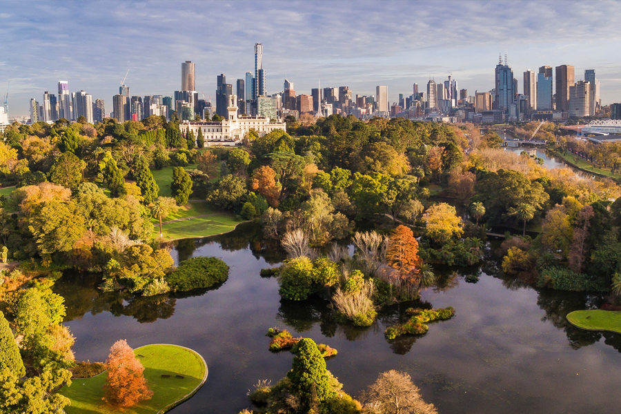 Melbourne Royal Botanical Garden