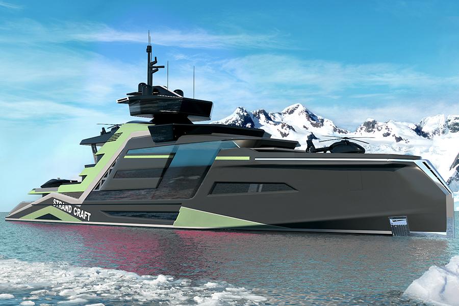 133 Meter Miami Concept Yacht