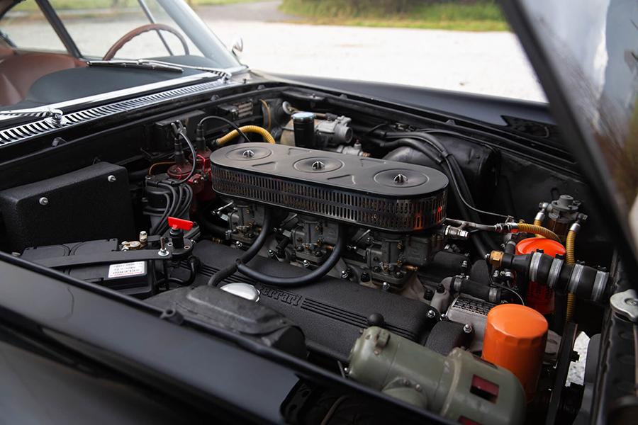 1962 Ferrari 250 GTE engine