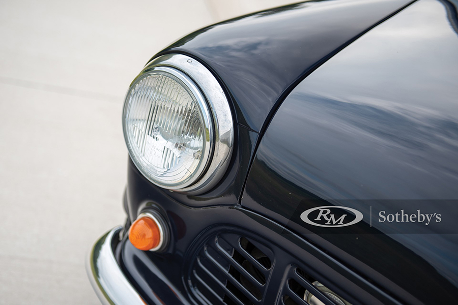 1972 Austin Mini Pickup Truck headlight