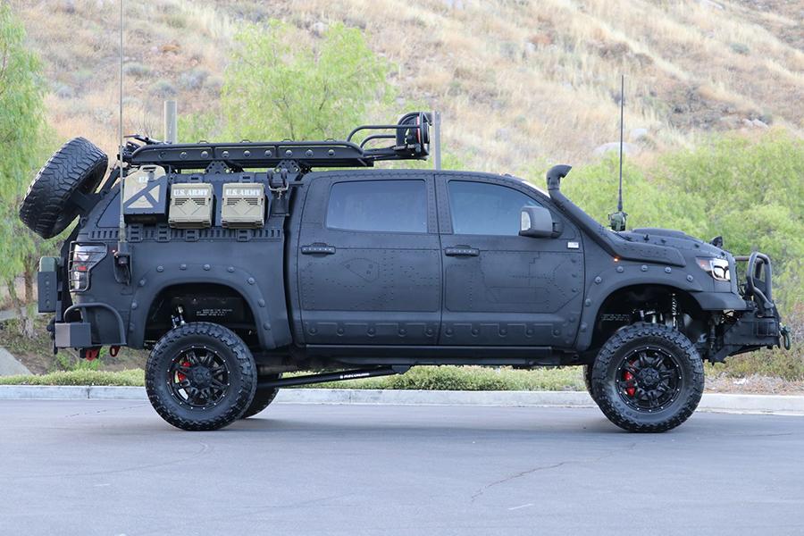 Toyota Tundra Custom Build side view