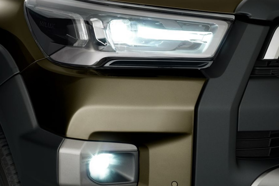 upcoming four wheel drive headlights
