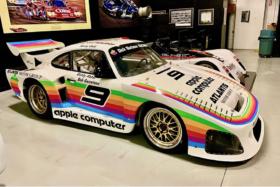 Side ofApple-sponsored Porsche 935 replica