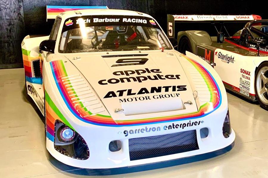Porsche Race Car front view