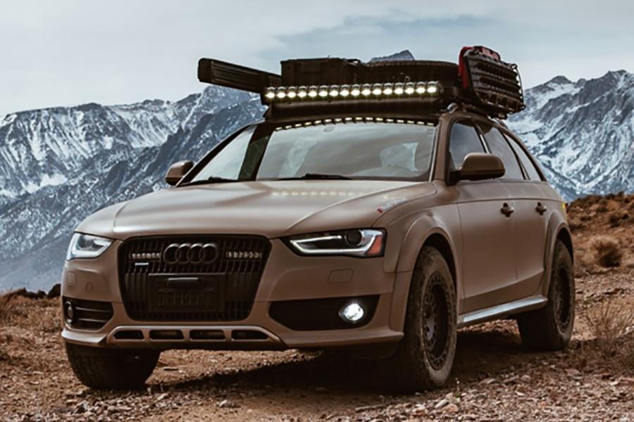 Audi Offroad Mod vehicle