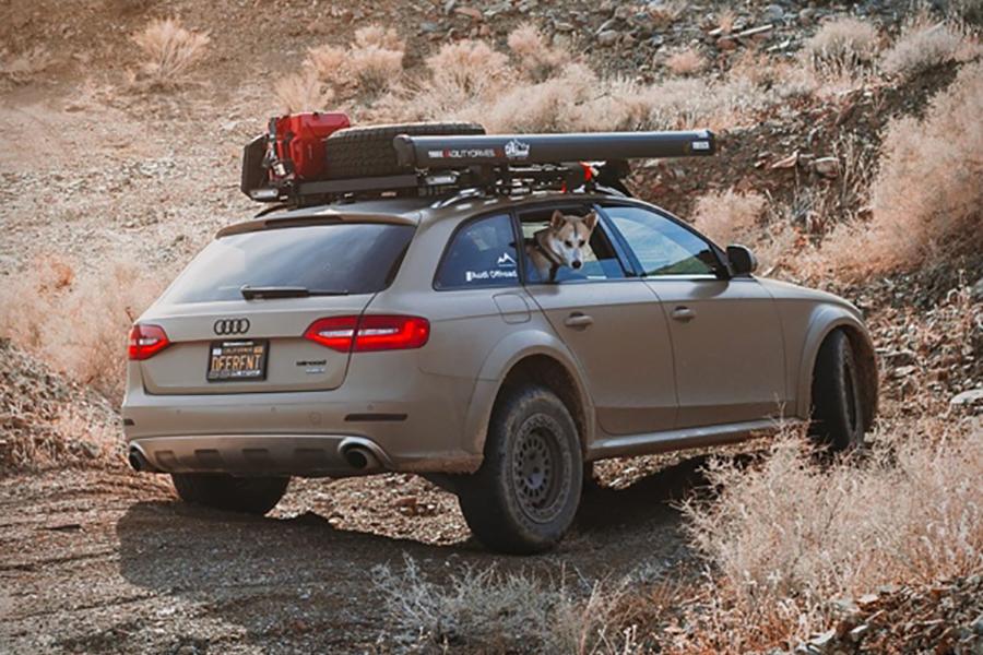 Audi Offroad Mod back view