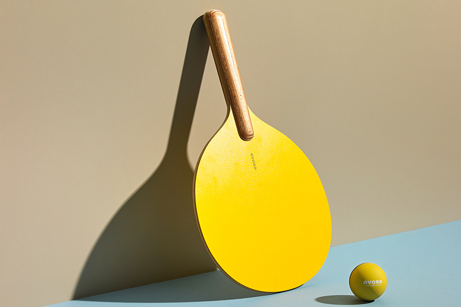 Avora Ping Pong Paddle with ball
