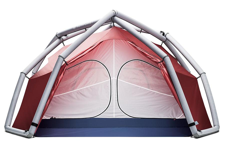 Backdoor Classic Season Tent open door
