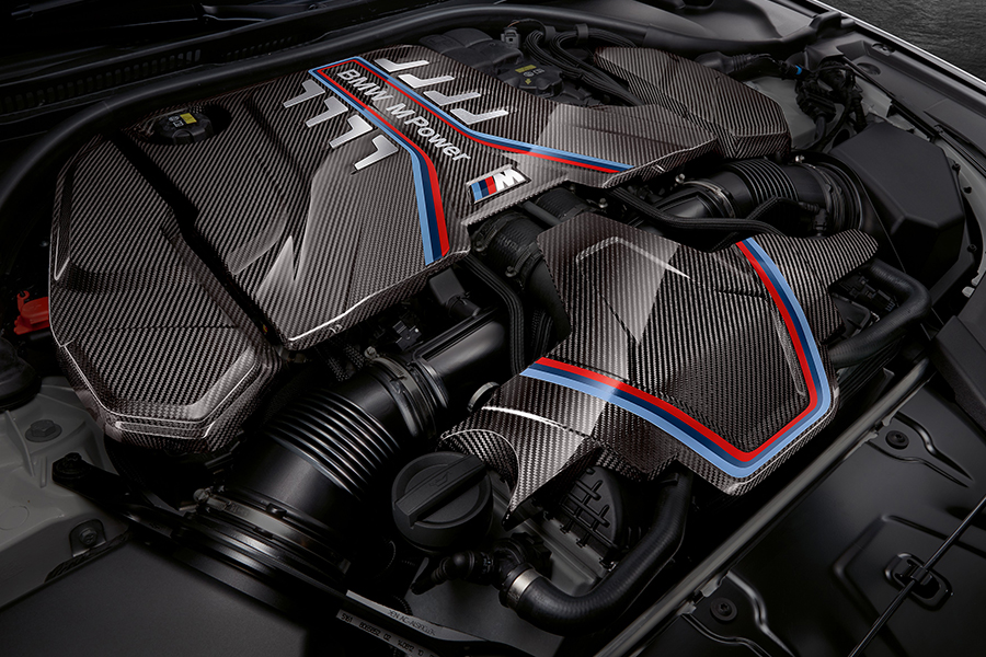BMW M Performance Parts engine