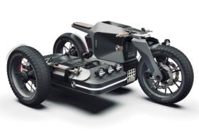 BMW Motorrad x ESMC Off Road Adventure e-motorcycle