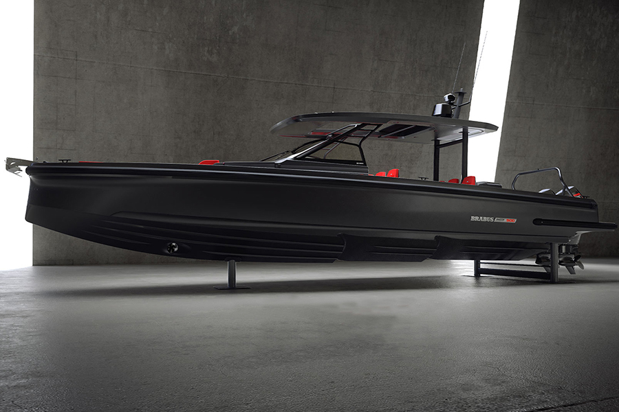 Brabus Shadow 900 boat side view