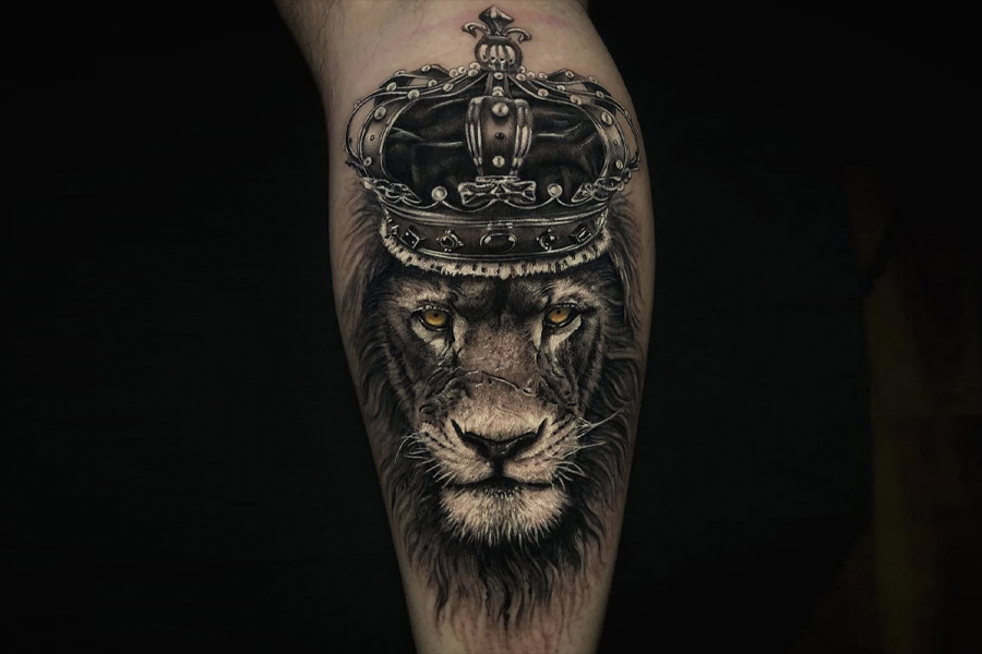 Best Tattoo Ideas for Men - lion Tattoo