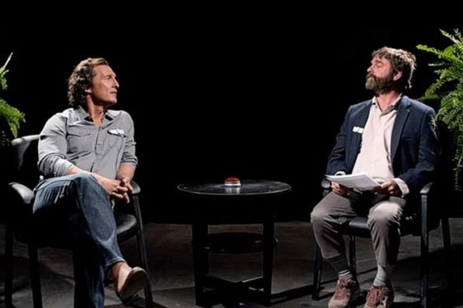 Between Two Ferns Bloopers