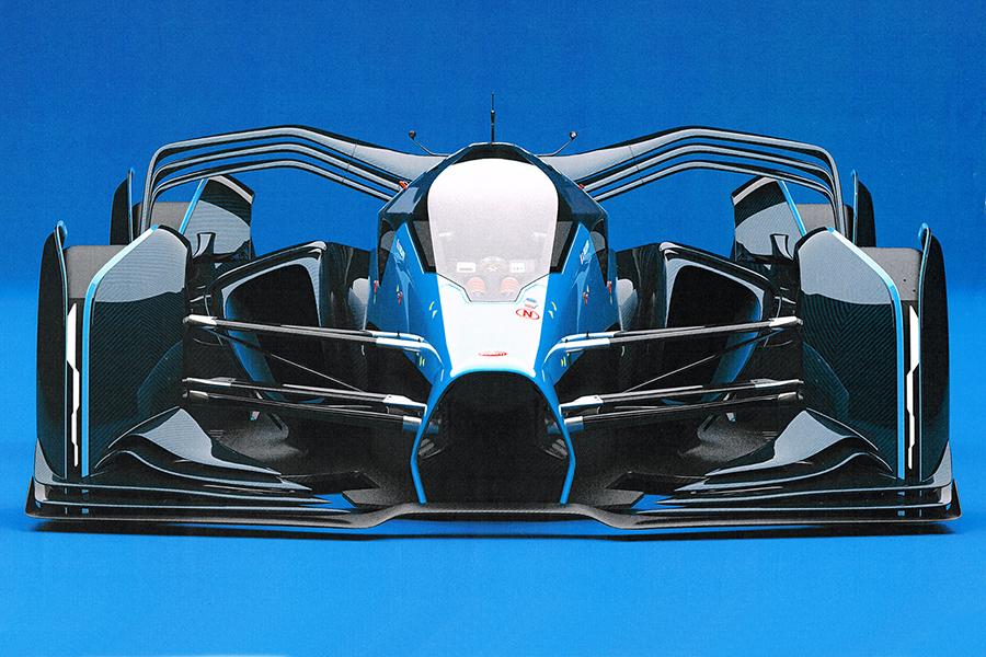 Bugatti Interns F1 front view