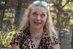 Carole Baskin awarded joe exotic's former zoo