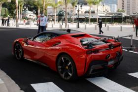 Charles Leclerc Ferrari SF90 Stradale 8