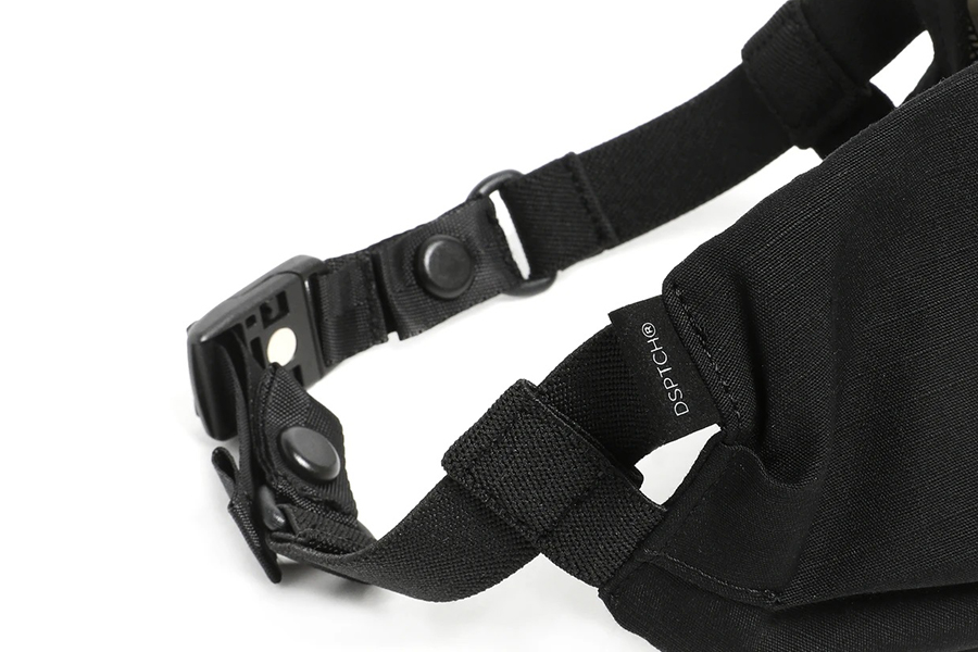 DSPTCH Unveils A Durable Ripstop Magnetic Quick-Release Filter Mask strap