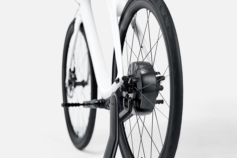 Eeyo Bike wheel from Gogoro