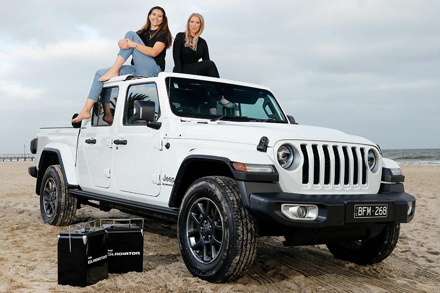 Empty Esky x Jeep Backs Bushfire Victims