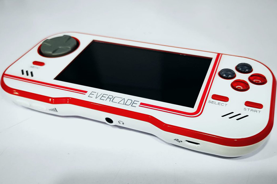 Evercade Retro Games Console top view
