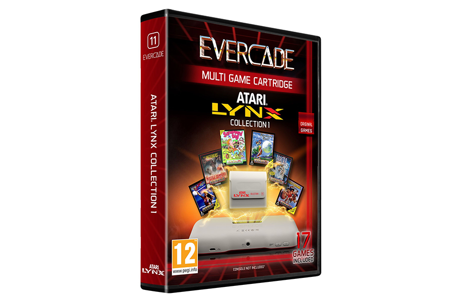 Evercade Retro Games Console box