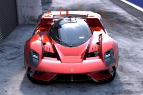 Ferrari F399 Concept front